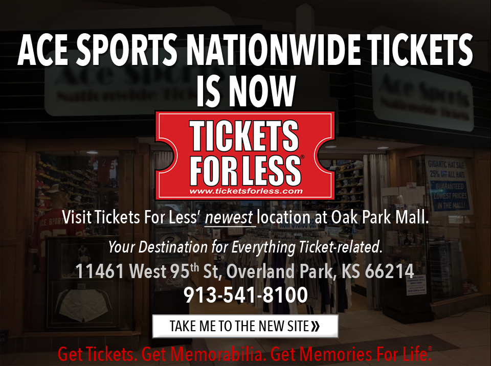 Ace Sports Nationwide Tickets is now Tickets For Less