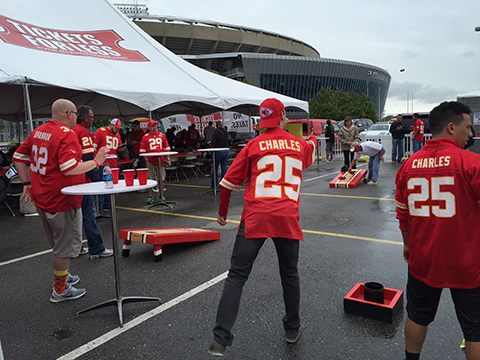 VIP Tent Tailgate Packages & Kansas City Chiefs VIP Tailgate Tickets