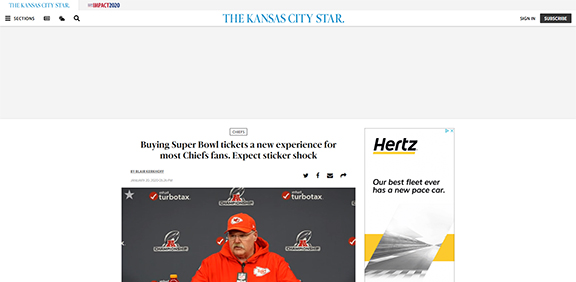 Buying Super Bowl tickets a new experience for most Chiefs fans. Expect sticker shock