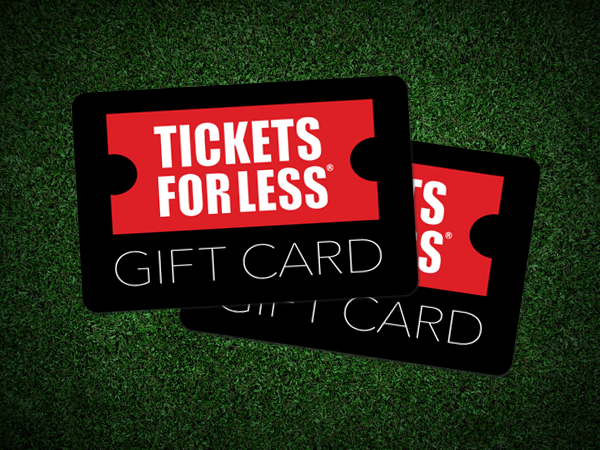 Tickets For Less Gift Cards